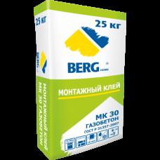 Монтажный клей МК30 Газобетон BERGhome
