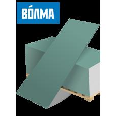 Гипсокартон влагостойкий ГКЛВ 9,5 мм ВОЛМА