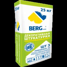 """Штукатурка декоративная ШТ3 """"Камешковая"""" Б3 BERGhome"""